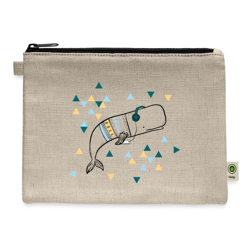 Music Whale - Carry All Pouch