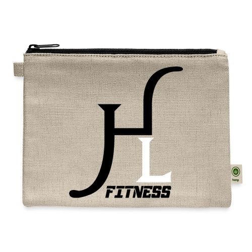 HIIT Life Fitness logo white - Carry All Pouch
