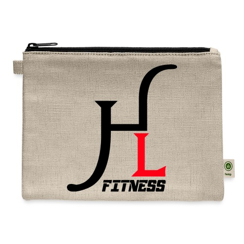 HIIT Life Logo Red - Carry All Pouch