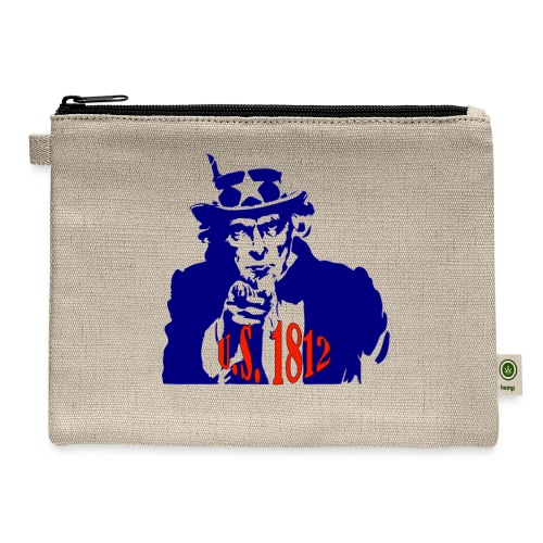 uncle-sam-1812 - Carry All Pouch