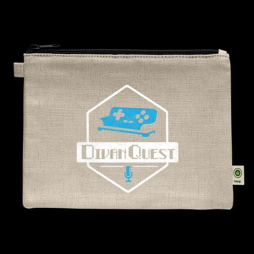 DivanQuest Logo (Badge) - Carry All Pouch