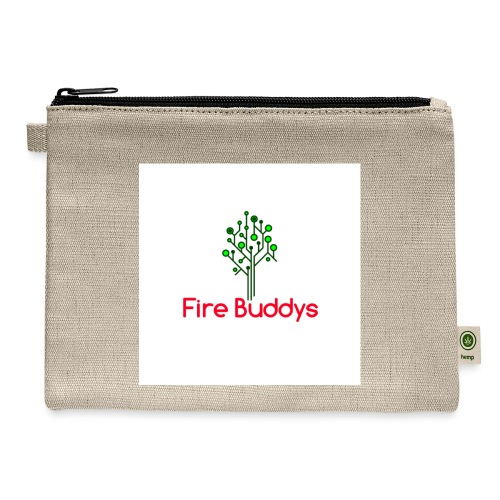 Fire Buddys Website Logo White Tee-shirt eco - Carry All Pouch