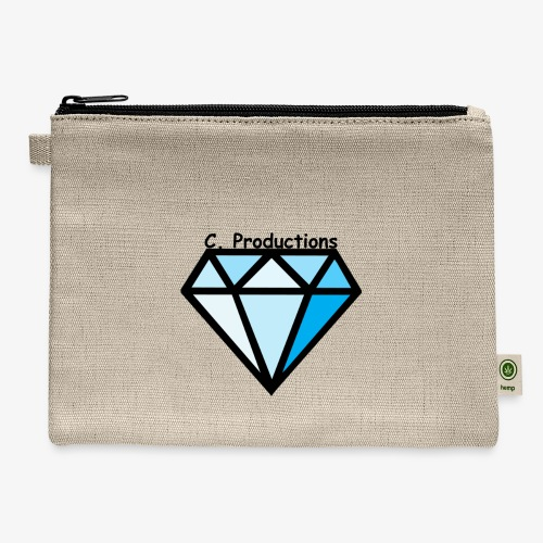 C. Productions Diamond Logo - Carry All Pouch