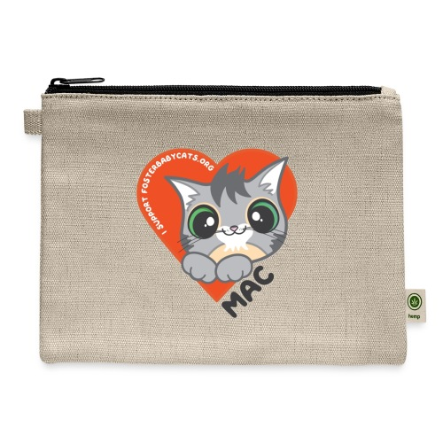 Mac Heart - Carry All Pouch
