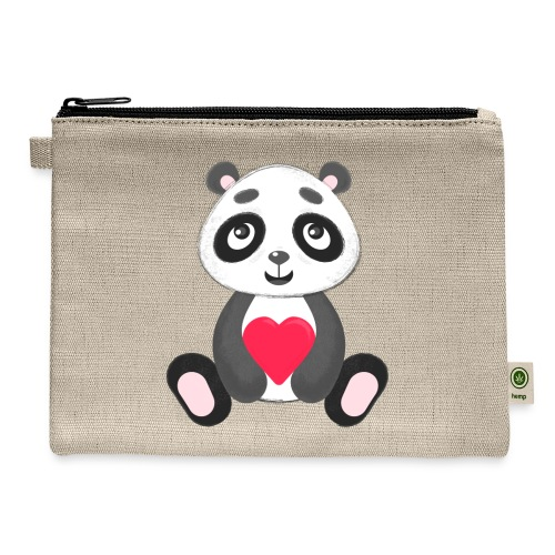Sweetheart Panda - Carry All Pouch