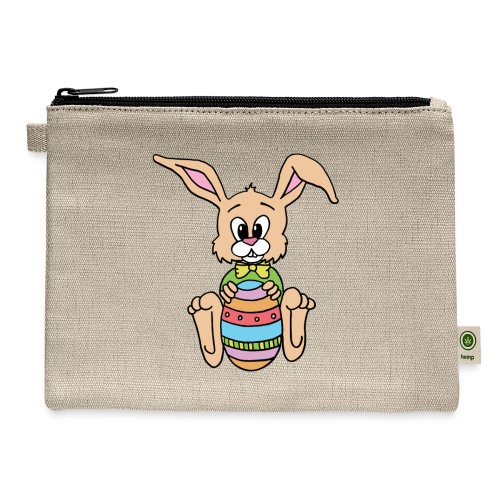 Easter Bunny Shirt - Carry All Pouch