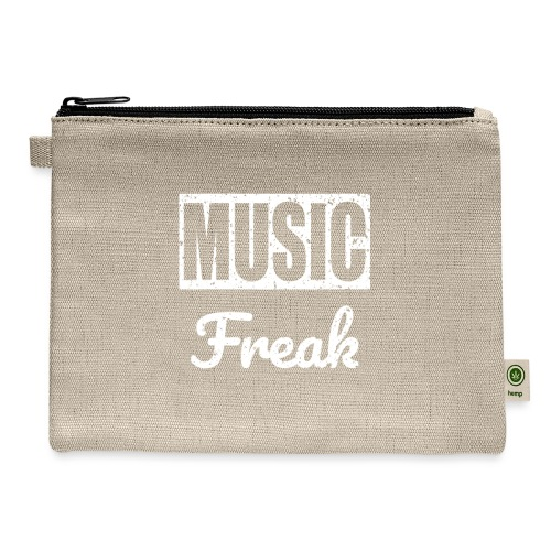 Music Freak T-Shirt - for all music lover - Carry All Pouch
