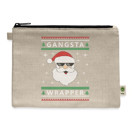 Christmas Gangsta Wrapper - Carry All Pouch