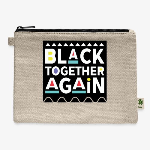 Black Together Again - Carry All Pouch