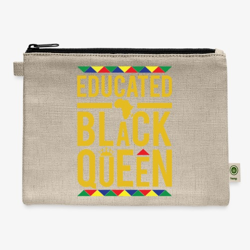 Educated Black Queen - Carry All Pouch