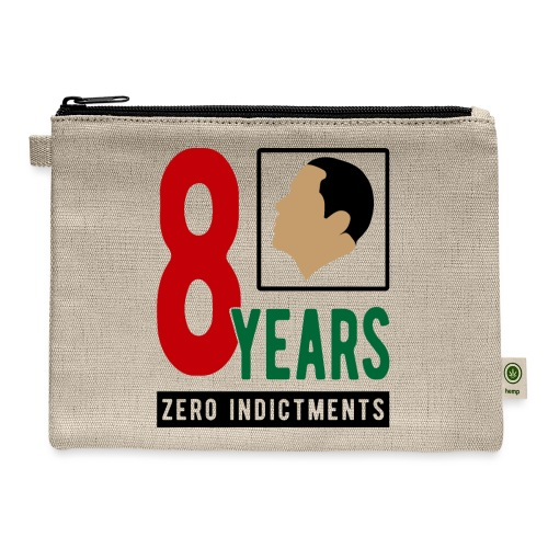 Obama Zero Indictments - Carry All Pouch