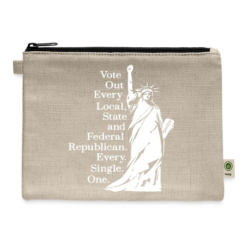 Vote Out Republicans Statue of Liberty - Carry All Pouch