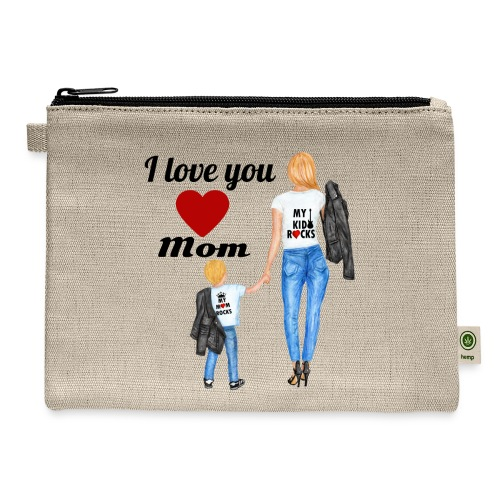Mother's day gift from daughter, Mother's Day Gift - Carry All Pouch