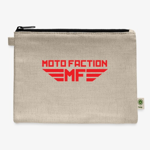 MotoFaction Logo - Carry All Pouch