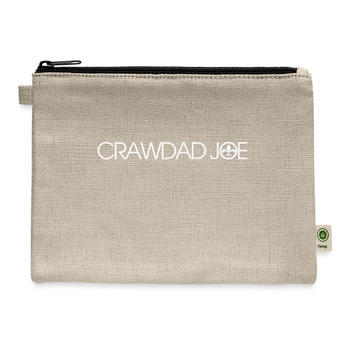 Logo white - Carry All Pouch
