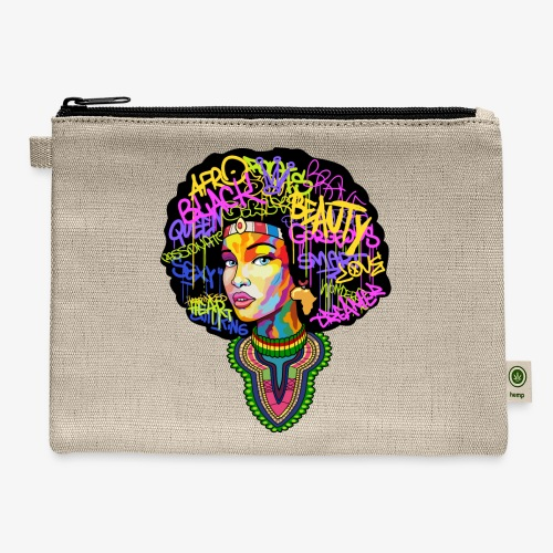 Afro Queen Dashiki - Carry All Pouch