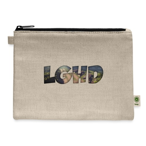LGHD Rust Name png - Carry All Pouch