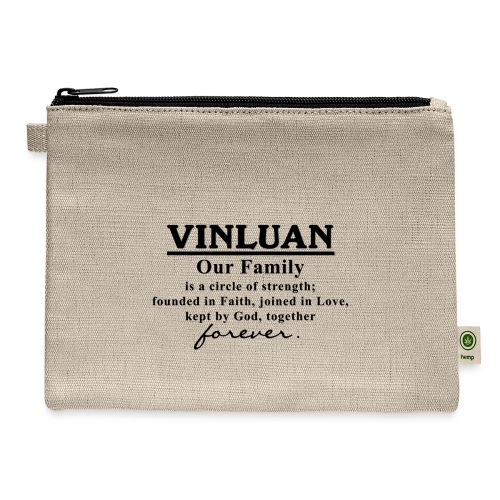 Vinluan Family 01 - Carry All Pouch