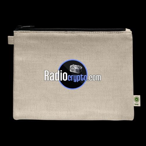 RadioCrypto Logo 1 - Carry All Pouch