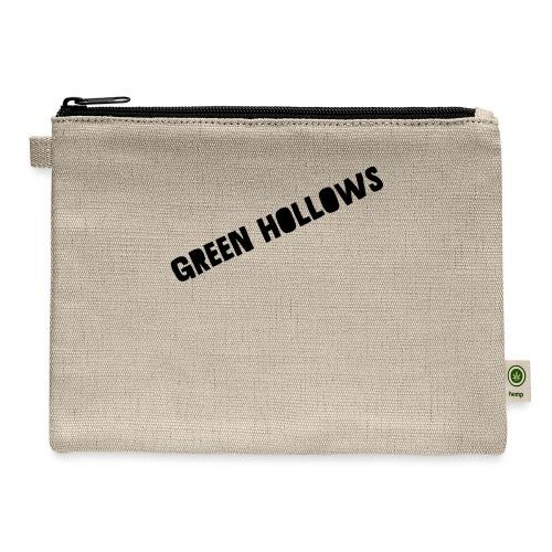Green Hollows Merch - Carry All Pouch