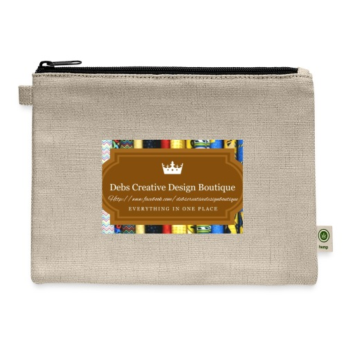 Debs Creative Design Boutique with site - Carry All Pouch