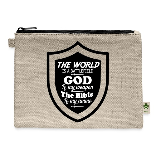 God is my Weapon - Carry All Pouch