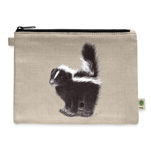 Cool cute funny Skunk - Carry All Pouch