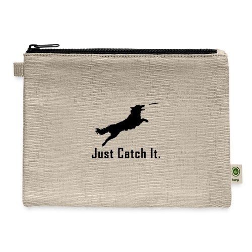 Just Catch It (Black) - Carry All Pouch