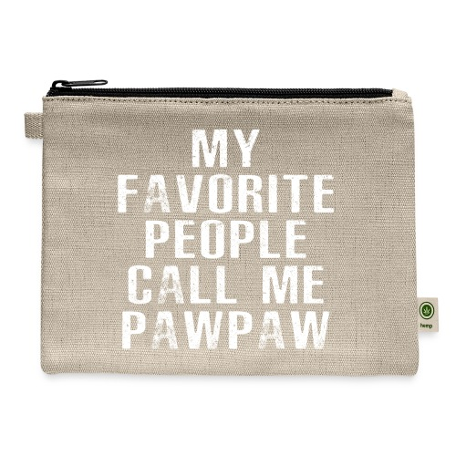 My Favorite People Called me PawPaw - Carry All Pouch