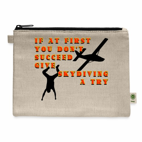 Try Skydiving - Carry All Pouch