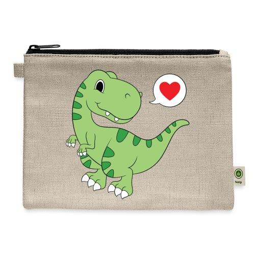 Dinosaur Love - Carry All Pouch