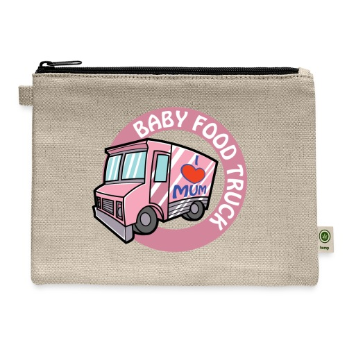 Pink baby food truck - Carry All Pouch