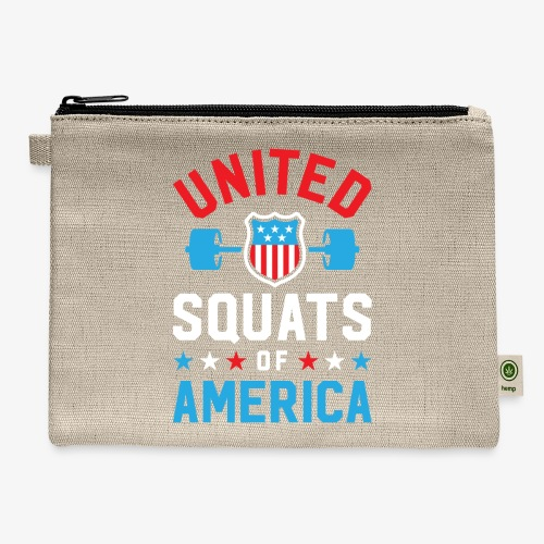 United Squats Of America v2 - Carry All Pouch