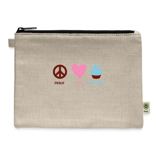 peacelovecupcakes pixel - Carry All Pouch