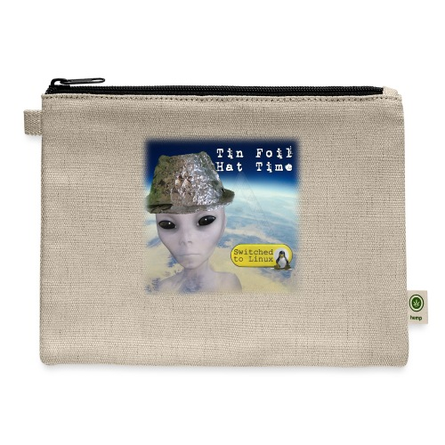 Tin Foil Hat Time (Earth) - Carry All Pouch