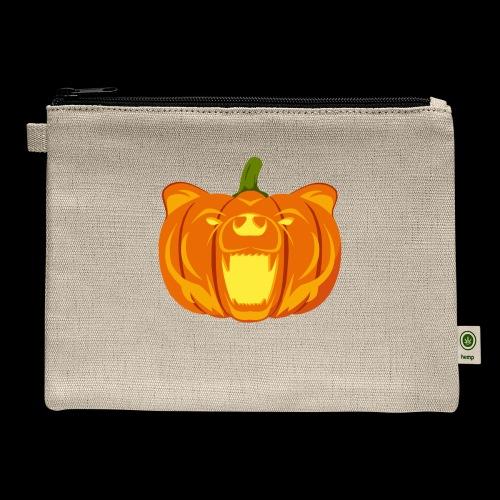 Pumpkin Bear - Carry All Pouch