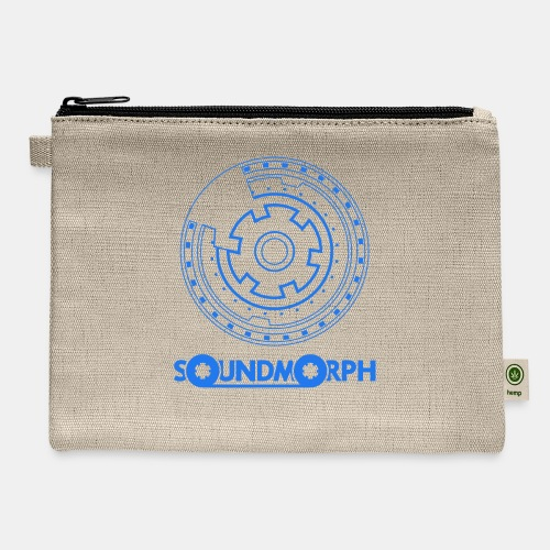 Organic SM Cog Tee - Carry All Pouch