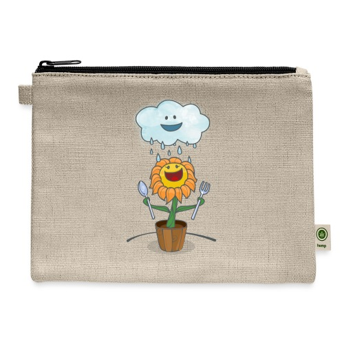 Cloud & Flower - Best friends forever - Carry All Pouch