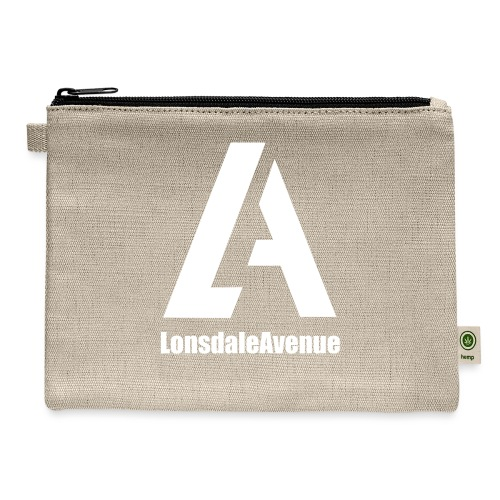 Lonsdale Avenue Logo White Text - Carry All Pouch