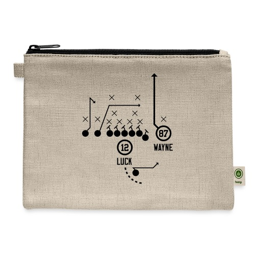 X O Andrew Luck to Reggie Wayne - Carry All Pouch