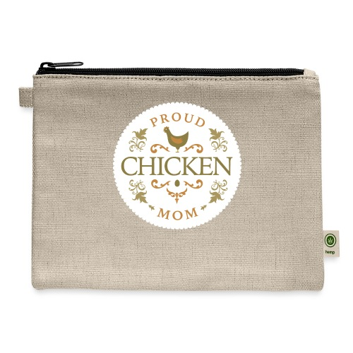 proud chicken mom - Carry All Pouch