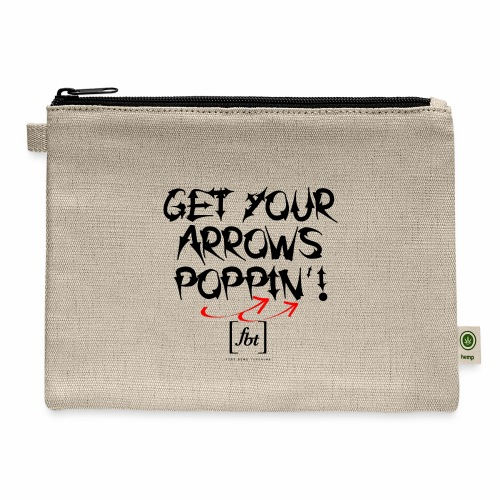 Get Your Arrows Poppin'! [fbt] - Carry All Pouch