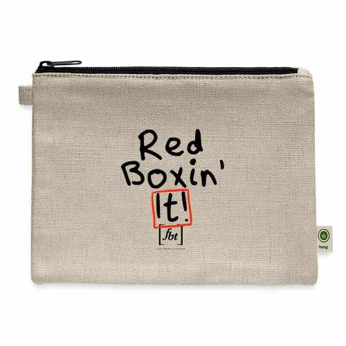 Red Boxin' It! [fbt] - Carry All Pouch