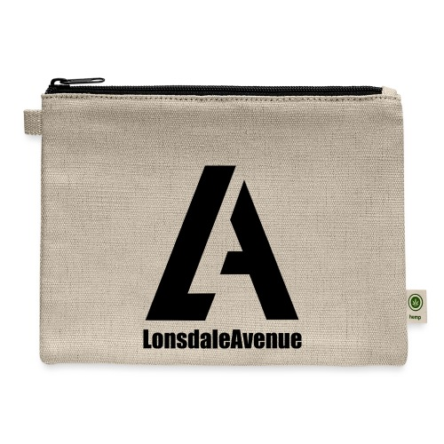 Lonsdale Avenue Logo Black Text - Carry All Pouch