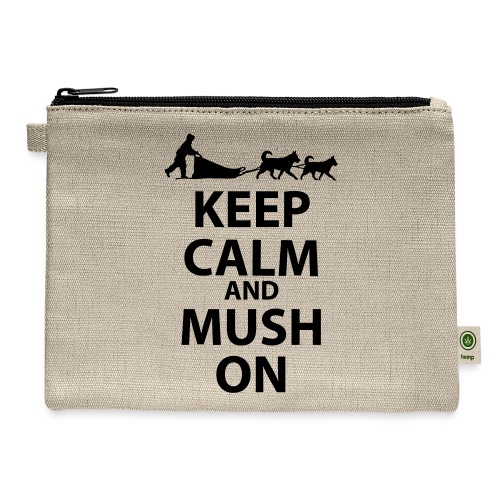 Keep Calm & MUSH On - Carry All Pouch
