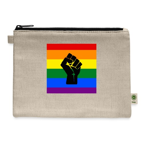 BLM Pride Rainbow Black Lives Matter - Carry All Pouch