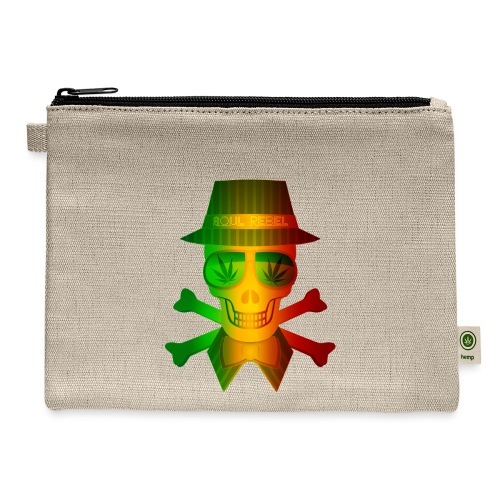 Rasta Man Rebel - Carry All Pouch