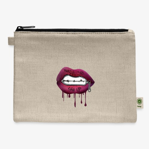 women mouth - Carry All Pouch