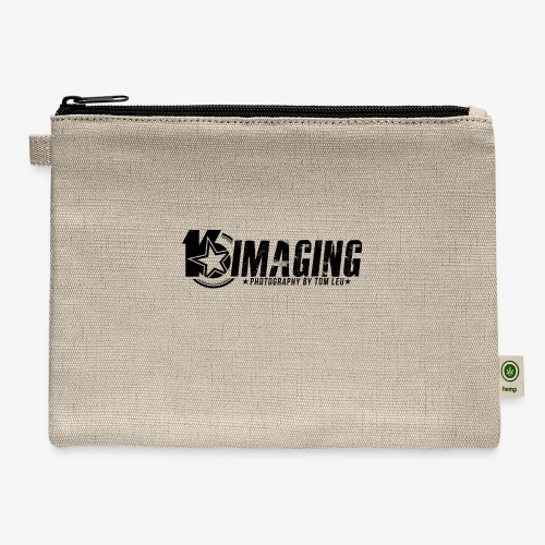 16IMAGING Horizontal Black - Carry All Pouch