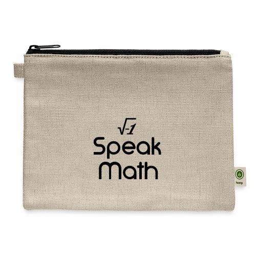 i Speak Math - Carry All Pouch